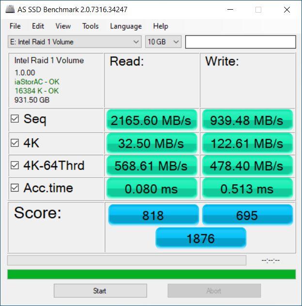 Western Digital Blue SN550 Performance 10GB Data BitLocker Encrypted