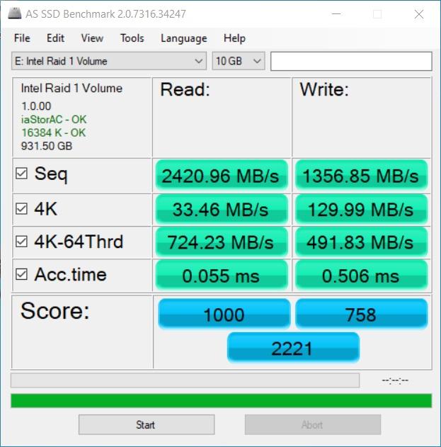 Western Digital Blue SN550 Performance 10GB Data